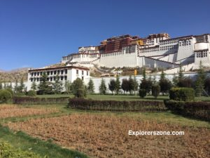 Potala Palace Front View